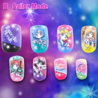 900【グッズ-化粧雑貨】美少女戦士セーラームーン キャラネイル/B Sailor Mode