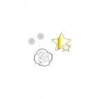【グッズ-チャーム】KING OF PRISM by PrettyRhythm クリアロケット詰替えパーツ/如月ルヰ
