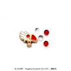 【グッズ-チャーム】カードキャプターさくら クリアロケット詰替えパーツ/封印の杖