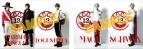 【グッズ-クリアファイル】舞台 『ACCA13区監察課』 クリアファイル 3.ウォーブラー&ビスキュイ&ロクステッラ/シュヴァーン&マギー