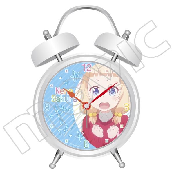 【グッズ-時計】NEW GAME!! 音声入り目覚まし時計 桜ねね A