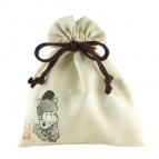【グッズ-巾着袋】きゃらふぉるむ おそ松さん 巾着コレクション 戯画ver. 04 一松