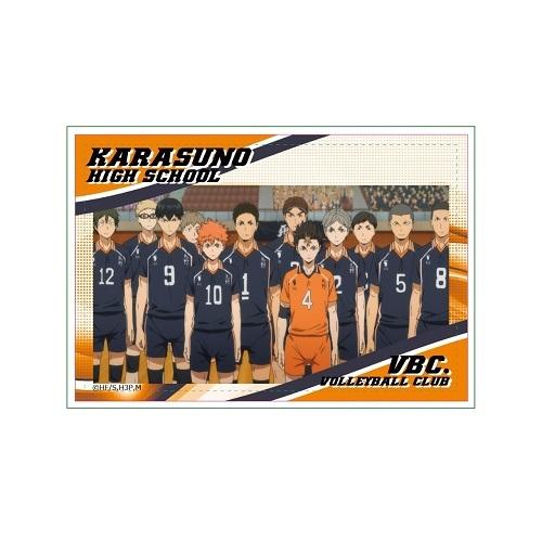 ハイキュー!! 烏野高校VS白鳥沢学園高校 スクエア缶バッジ/烏野高校排球部