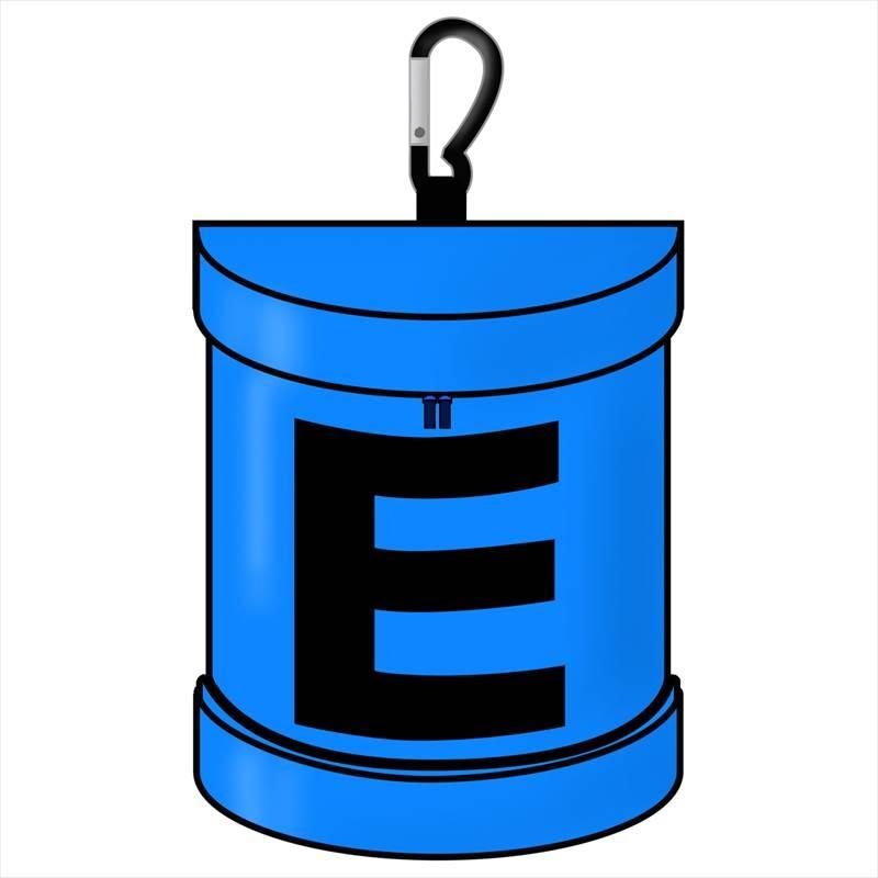 ロックマン カラビナ付きポーチ E缶