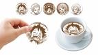 【グッズ-食品】ONE PIECE Deco Lattte A(ラテアートシート5枚セット)