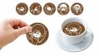 【グッズ-食品】東京喰種トーキョーグール Deco Latte(ラテアートシート5枚セット)