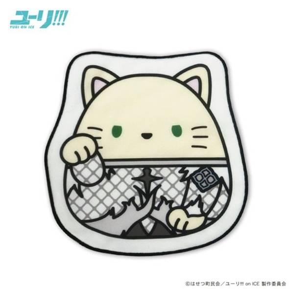ユーリ!!! on ICE まねきもちねこ ダイカットミニタオル/ユーリ・プリセツキー