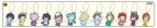 【グッズ-キーホルダー】あんさんぶるスターズ! アクリルキーホルダーコレクション ワンダーランドシリーズB