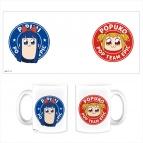 【グッズ-マグカップ】ポプテピピック マグカップ 意識高い系