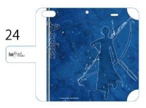 Fate/Grand Order 手帳型スマホケース( iPhone 6 / 6S 専用 ) 24 アーチャー / アルジュナ