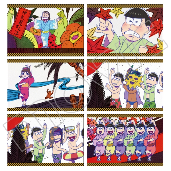 【グッズ-ポストカード】おそ松さん ポストカードセット/H