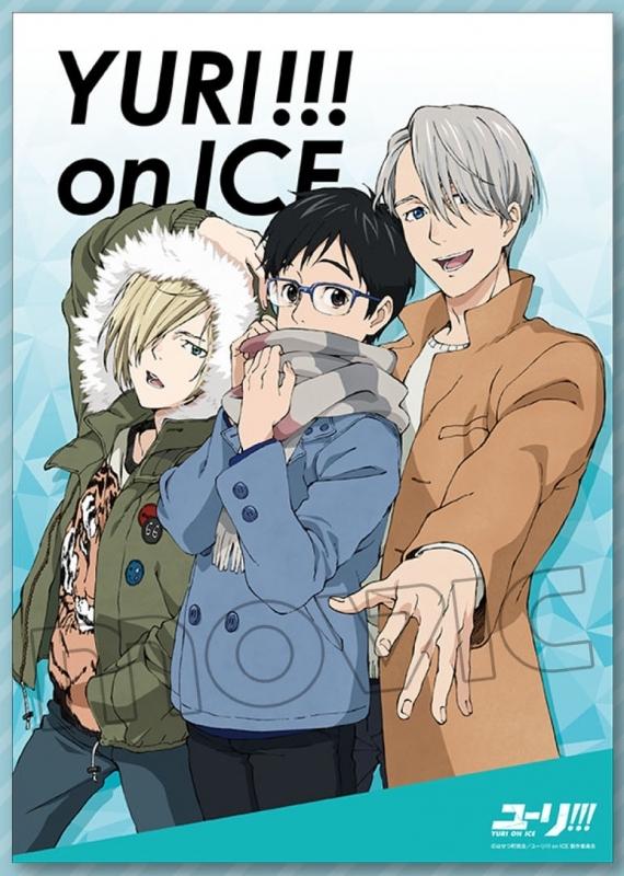 ユーリ!!! on ICE ミニクリアポスター B