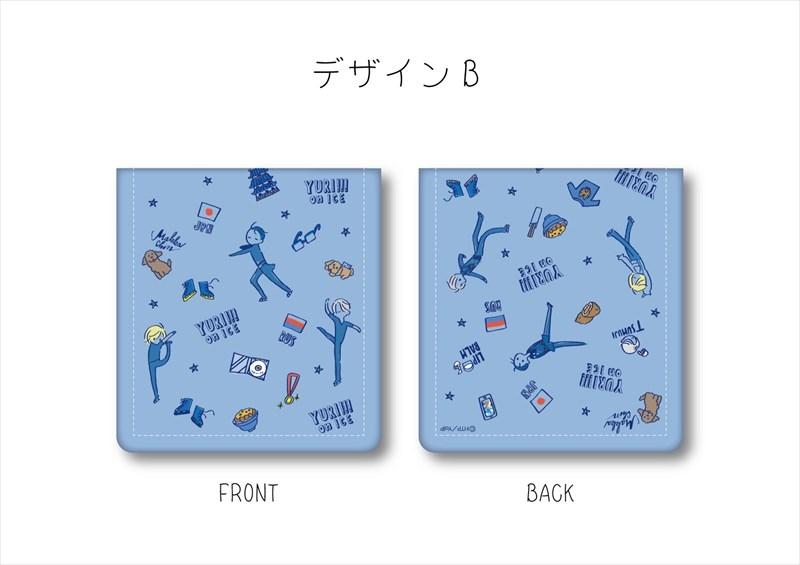 ユーリ!!! on ICE コインケース/デザインB