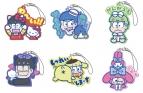 【グッズ-マスコット】おそ松さん×サンリオキャラクターズ LINEスタンプ ラバーマスコット