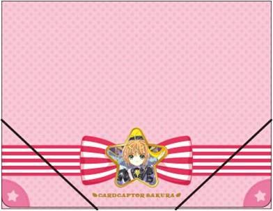 カードキャプターさくら フラットホルダー(A4サイズ)/ピンクのリボン