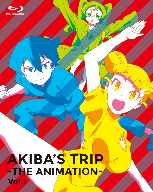900【Blu-ray】※送料無料※TV AKIBA'S TRIP -THE ANIMATION- Blu-ray BOX Vol.1