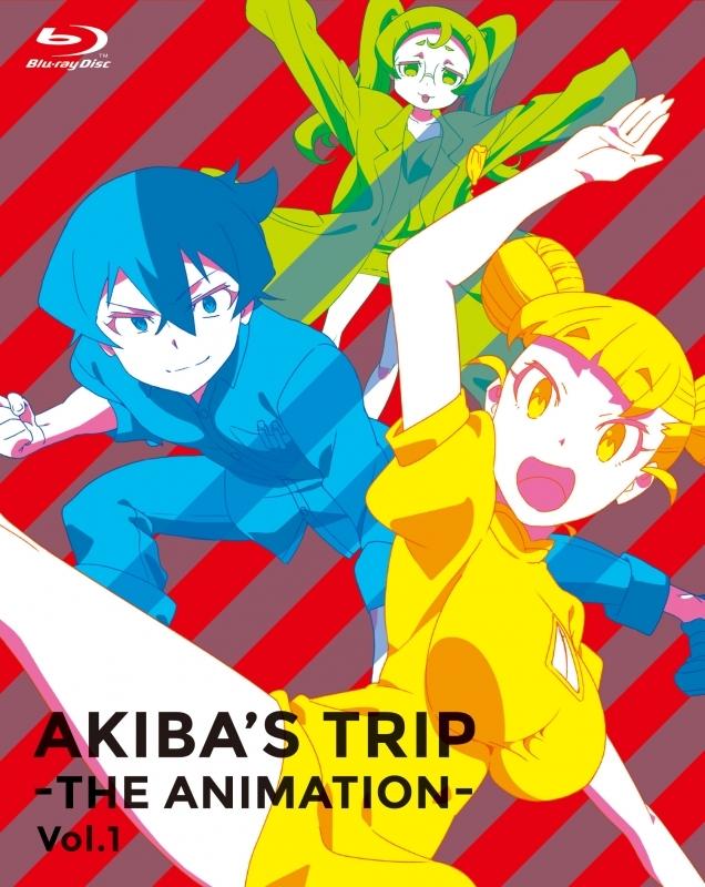 900【Blu-ray】※送料無料※TV AKIBA'S TRIP -THE ANIMATION- Blu-ray BOX Vol.1