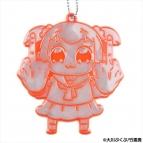 【グッズ-キーホルダー】ポプテピピック リフレクター 01.ポプ子