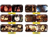 アニメイトオンラインショップ900★【グッズ-ドアプレート】進撃の巨人 ドアプレコレクション