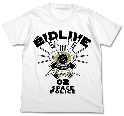 宇宙警察エルドライブTシャツ/WHITE-XL