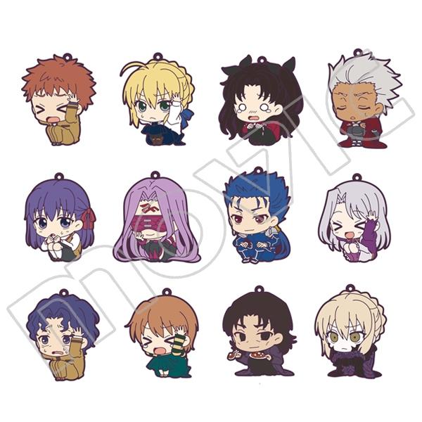 【グッズ-ストラップ】Fate/stay night ラバーストラップコレクション/ViVimus