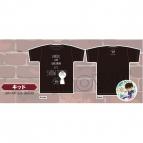【グッズ-Tシャツ】名探偵コナン Tシャツ&缶バッジ/D:キッド