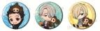 【グッズ-バッチ】ユーリ!!! on ICE×チェブラーシカ 缶バッジセット