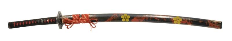 900【コスプレ-武器】【匠刀房】NEU-050D:廉価版模造刀剣 戦国シリーズ・前田慶次郎(大輪鍔) 大刀/刀剣のみ