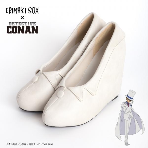 ERIMAKI SOX×名探偵コナン エリマキパンプス 怪盗キッドモデル (S 22.5cm)