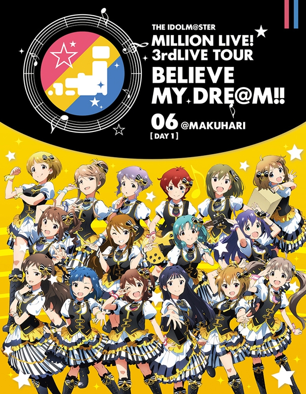 900【Blu-ray】THE IDOLM@STER MILLION LIVE! 3rd LIVE TOUR BELIEVE MY DRE@M! 06@MAKUHARI DAY1