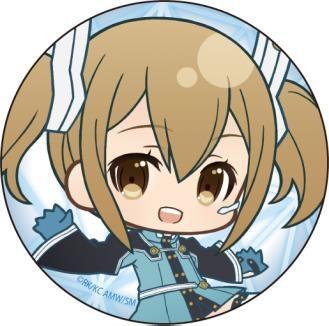劇場版 ソードアート・オンライン-オーディナル・スケール- ぷにキャラ カンバッジ シリカ