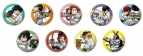【グッズ-バッチ】僕のヒーローアカデミア×侍JAPAN  トレーディング缶バッジ
