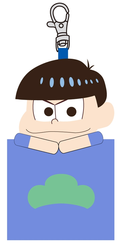 おそ松さん マスコットミニポーチ B(カラ松)