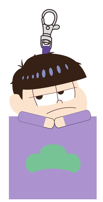 おそ松さん マスコットミニポーチ D(一松)