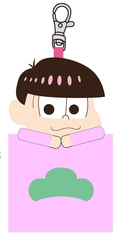 おそ松さん マスコットミニポーチ F(トド松)