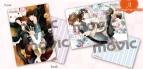 【グッズ-クリアファイル】世界一初恋 クリアファイルセット/A
