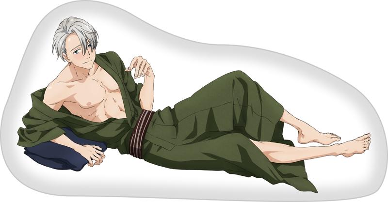 【グッズ-クッション】ユーリ!!! on ICE 人をダメにするシリーズ〜クッション〜 ヴィクトル・ニキフォロフ
