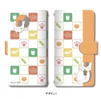【グッズ-カバーホルダー】夏目友人帳 ブックスタイルスマホケース Lサイズ デザイン01