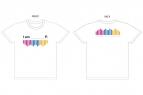 【グッズ-Tシャツ】アイドルマスター シンデレラガールズ デザインTシャツ Lサイズ【AnimeJapan2017】