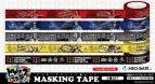 【グッズ-テープ】ヒプノシスマイク -Division Rap Battle- マスキングテープ 5種セット
