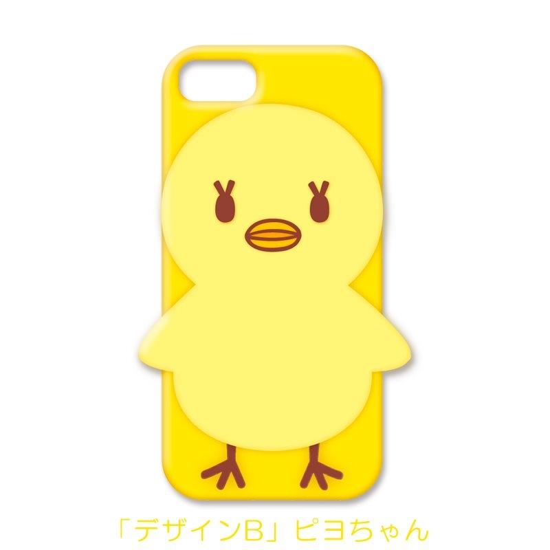 【グッズ-携帯グッズ】うたの☆プリンスさまっ♪ マスコットキャラクターズ シリコンスマホカバー/B(ピヨちゃん)iPhone7Plus