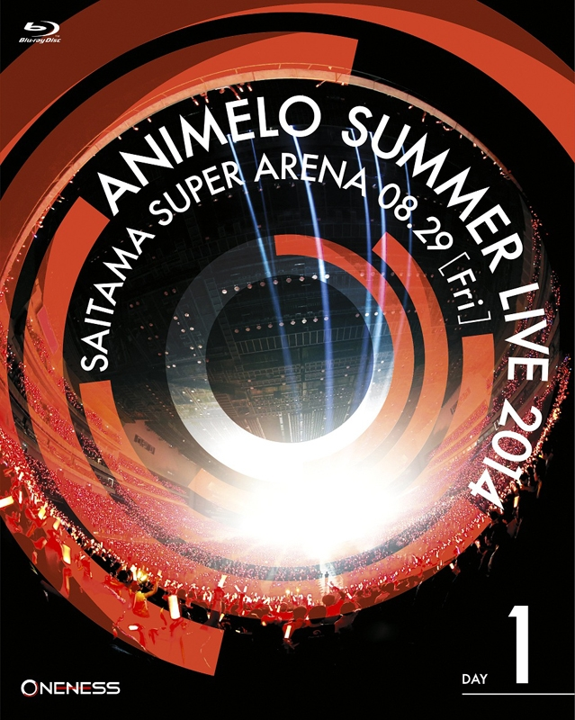 900【Blu-ray】Animelo Summer Live 2014 -ONENESS- 8.29