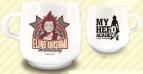 【グッズ-マグカップ】僕のヒーローアカデミア スタッキングカップ05切島鋭児郎