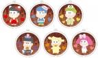 【グッズ-キーホルダー】おそ松さん×Sanrio Characters リフレクションキーホルダー チョコレートver