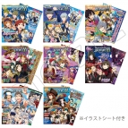 【グッズ-クリアファイル】アイドルマスター SideM 雑誌風クリアファイルコレクション(イラストシート入り)