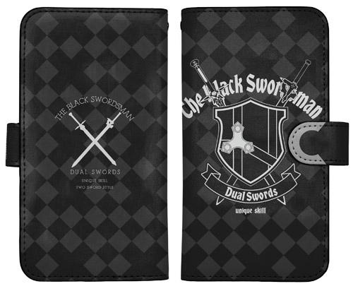 劇場版 ソードアート・オンライン -オーディナル・スケール- 黒の剣士 手帳型スマホケース