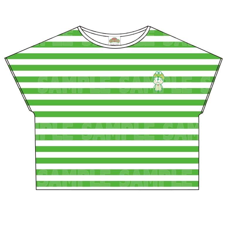 【グッズ-Tシャツ】おそ松さん×Sanrio characters ボーダーTシャツ (チョロ松)