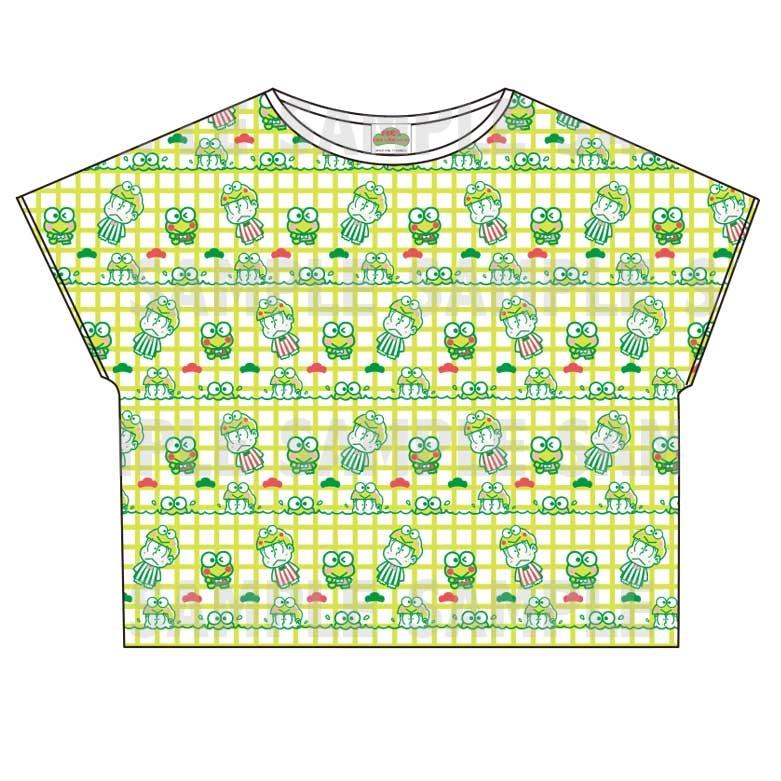 【グッズ-Tシャツ】おそ松さん×Sanrio characters 総柄Tシャツ (チョロ松)