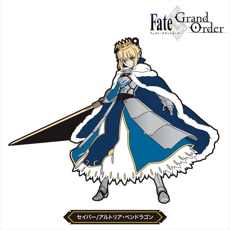 【グッズ-ストラップ】Fate/Grand Order ノンデフォルメ ラバーストラップ Vol.1 セイバー/アルトリア・ペンドラゴン