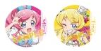 【グッズ-バッチ】キラッとプリ☆チャン 缶バッジセット/桃山みらい&萌黄えも(きゃらびぃ)